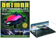 DC Batman Automobilia Collection #15 Batman And Robin #1 Batmobile Eaglemoss